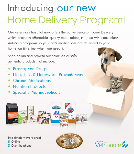 Pet Supply Home Delivery Program